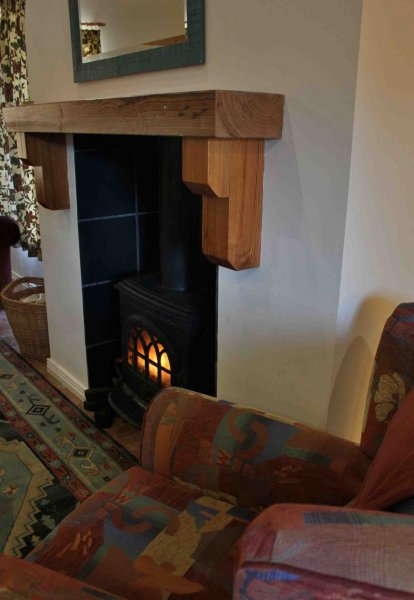Wood Burning Stove, Carnaclasha 3 Bedroom House Vacation Rental Northern Ireland