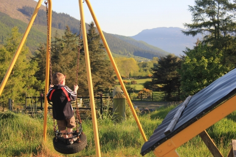 Playground, Rostrevor Holidays