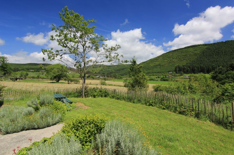 Front Garden with views across to the Mournes, Cnoc Si, Rostrevor Holidays
