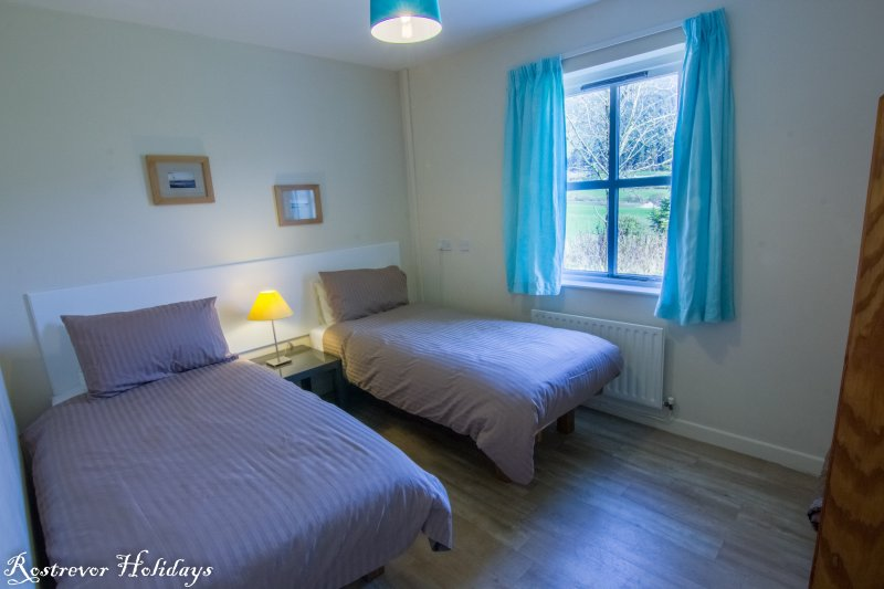 Twin Bedroom, Cnoc Si, Rostrevor Holidays
