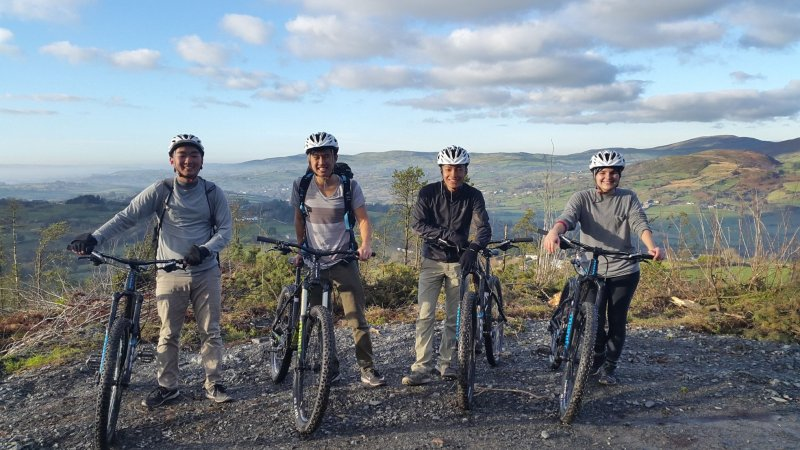 Mountain-biking-at-Castlewellan