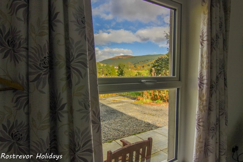 View from Annexe Bedroom. Large Group Accommodation. Vacation Rentals. Rostrevor Holidays (12)
