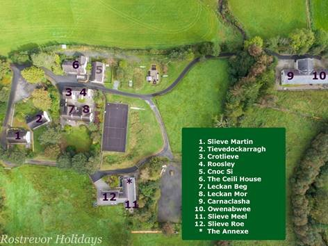 Aerial-view-map-of-Rostrevor-Holidays