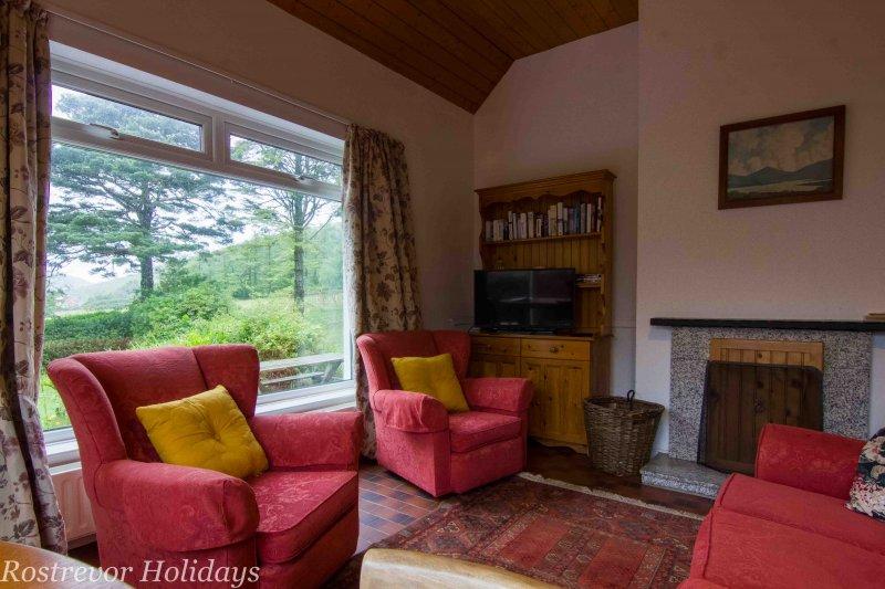Living-Room, Leckan Mor, Rostrevor Holidays