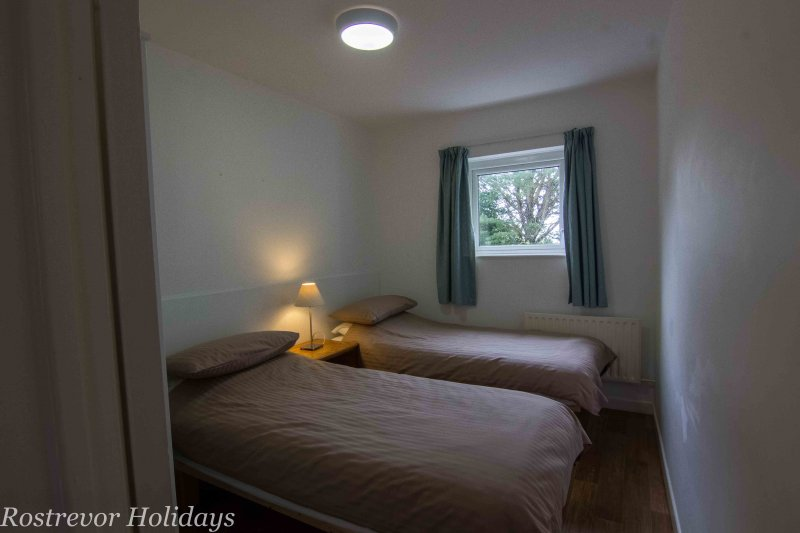 Twin-Bedroom, Leckan Mor, Rostrevor Holidays