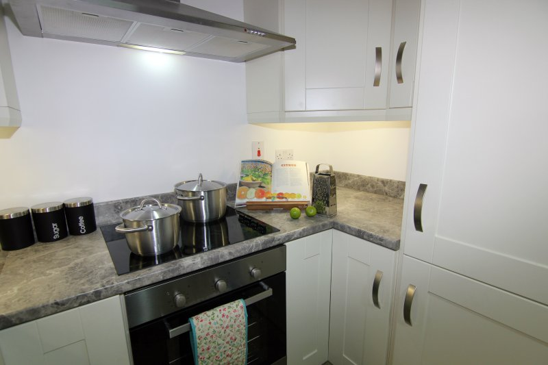 Fully Euipped Kitchen, Slieve Meel, Child Friendly, Rostrevor Holidays