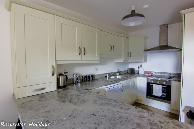 Modern Kitchen, Slieve Meel, Child Friendly, Rostrevor Holidays