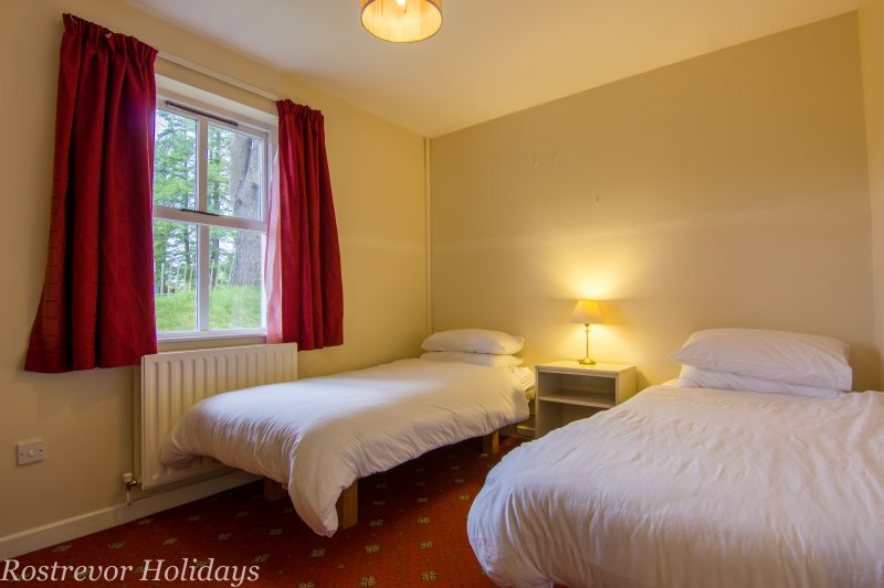 Twin Bedroom. Slieve Martin.  Holiday Cottage Ireand.