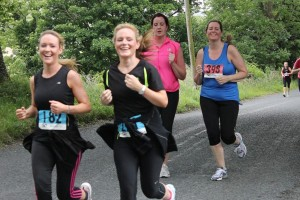 Competitors taking part in 26Extreme's Women's Mini Marathon