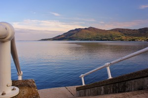 Steps to the sea Warrenpoint 300x199 Rostrevor   A haven for sports enthusiasts
