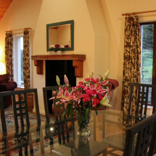 Dining Room Carnaclasha Rostrevor Accommodation
