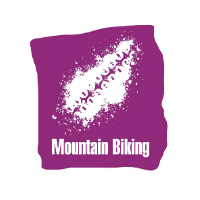 Mountain Biking Symbol - RGB