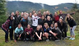 Westmont Mud Run Finish