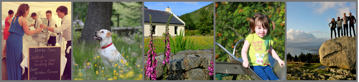 Rostrevor Holidays | Self Catering Accommodation | Child Friendly | Weddings | Dog Friendly | Mourne Mountains