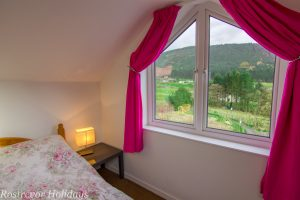 View from Roosley 2 bedroom cottage, Rostrevor Holidays